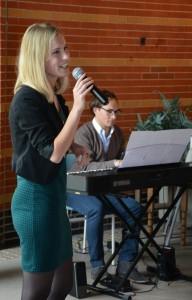 Optreden van Anita en Sebas