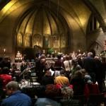 Pauze bij de Matthaus Passion in Bilthoven