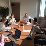 TNN-redactie in vergadering