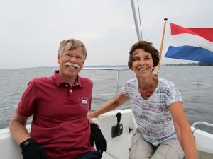 Op het IJsselmeer